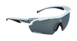 FORCE AEON brýle, bílo-černá, černé laser skla