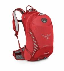 Osprey Escapist 18 batoh + pláštěnka červený