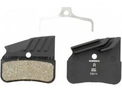 Shimano destičky brzdové N03A polymerové, s chladičem
