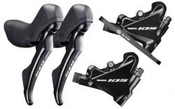 Řazení a hydraulická brzda Shimano ST-R7020 2x11