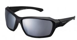 Brýle Shimano S22X, černá, skla zrcadlově stříbrná