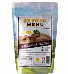 Expres Menu - jídlo na cesty - Štěpánská pečeně 300g/1porce