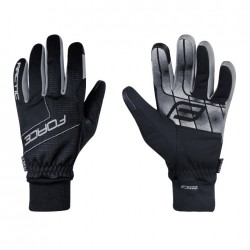 FORCE rukavice zimní ARTIC černé
