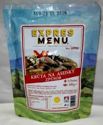 Expres Menu - jídlo na cesty - Krůta na asijský způsob 300g/1porce