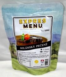 Expres Menu - jídlo na cesty - Milánská hovězí pečeně 300g/1porce