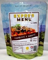Expres Menu - jídlo na cesty - Vepřové maso s mrkví 300g/1porce
