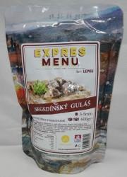 Expres Menu - jídlo na cesty - Segedínský guláš 600g/2porce