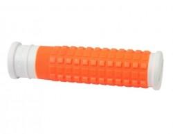 Force madla gumová MTB, bílo-oranžová