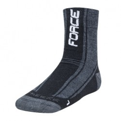 FORCE FREEZE ponožky černo/bílé