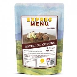 Expres Menu - jídlo na cesty - Hovězí na česneku 300g/1porce