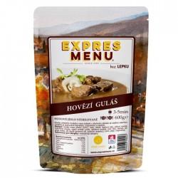 Expres Menu - jídlo na cesty - Hovězí guláš 600g/2porce