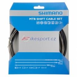 Shimano XTR řadící set - bowdenů a lanek