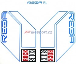 Rock Shox REBA RL - náhradní samolepky (set)