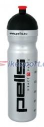 Pells láhev X-RACE 1L - stříbrná