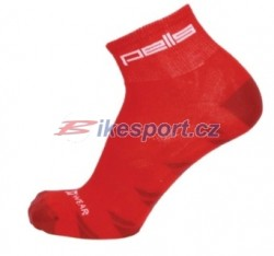 Pells ponožky Bike new - červená
