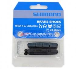 Shimano R55C4-1 Dura-ace brzdové gumičky ROAD (CARBON ráfky)