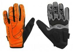 Force rukavice MTB SPID letní (oranžová)