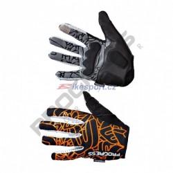 Progress rukavice pánské SPIDER černo/oranžové