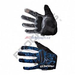 Progress rukavice pánské SPIDER černo/modré