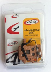 Brzdové destičky AVID Juicy/BB7, sintrované, Fe