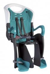 Bellelli zadní sedačka TIGER RELAX B-FIX (bílo-černá/tyrkys)