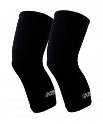 FORCE RACE návleky na kolena, lepené, černé