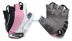 Force rukavice STRIPES gel (růžové)