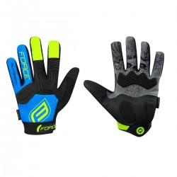 FORCE MTB AUTONOMY 17 rukavice, černo-modré