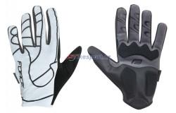 Force rukavice MTB SPID letní (bílé)