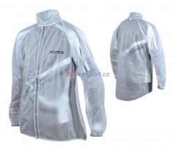Force pláštěnka z PVC čirá, suchý zip