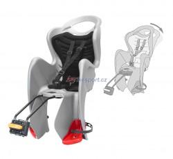 Bellelli zadní sedačka MR FOX RELAX (stříbrno-černá)