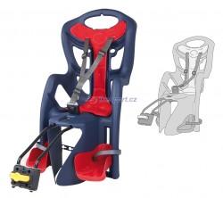 Bellelli zadní sedačka PEPE STANDARD (modrá/červená)