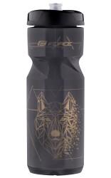 Láhev FORCE LONE WOLF 0,8 l, černá kouřová-zlatá