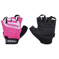 FORCE SPORT rukavice růžové