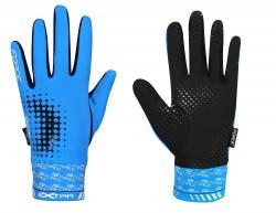 Force rukavice EXTRA celoprstové modré