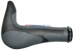 Force gripy GEL s integrovanými rohy 113 mm (černo-šedá)