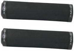 Gripy FORCE pěnové rovné jištěná, černé