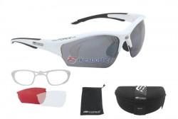Force brýle RIDE - bílo/černé s klipem