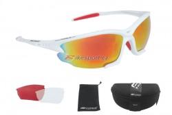Force brýle LIGHT - bílo/červené