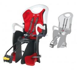 Bellelli zadní sedačka TIGER STANDARD (bílo-černá/červená)