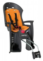 Hamax zadní sedačka SIESTA (tm.šedá/oranžová)