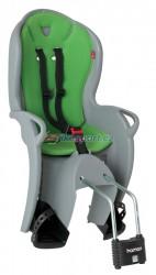 Hamax zadní sedačka KISS (světle šedá/zelená)