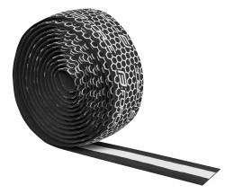 Omotávky FORCE EVA černá+bílý silikon.potisk
