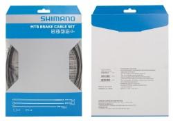 Shimano XTR brzdový set - bowdenů a lanek