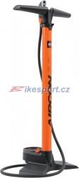 SKS pumpa AIRCON s manometrem, MULTIVALVE (oranžová)