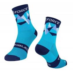 FORCE TRIANGLE ponožky modré