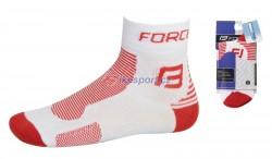 Force ponožky 1 (bílo-červené)