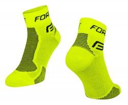 FORCE 1 ponožky fluo-černé