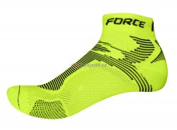 Force ponožky 2 (fluo-černé)