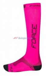 Force ponožky kompresní vel.S-M (růžovo-černé)